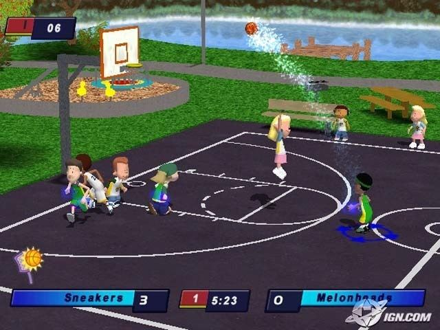 Backyard Basketball Backyard Basketball CD Playstation 2 Isos Downloads The  Iso Zone
