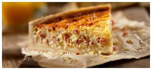 Bacon and egg pie Mum39s Bacon and Egg Pie
