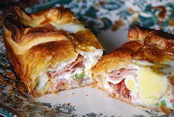 Bacon and egg pie Bacon and egg pie Wikipedia