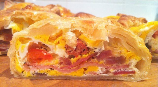 Bacon and egg pie Chorizo Bacon and Egg Pie MissFoodie