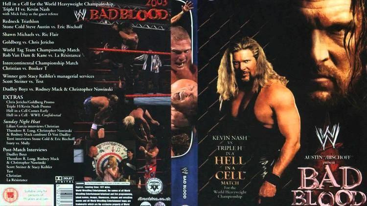 Bad Blood (2003) WWE Bad Blood 2003 Theme Song FullHD YouTube