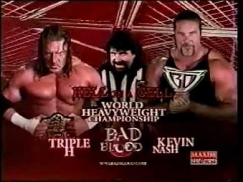 Bad Blood (2003) WWE Bad Blood 2003 match card YouTube