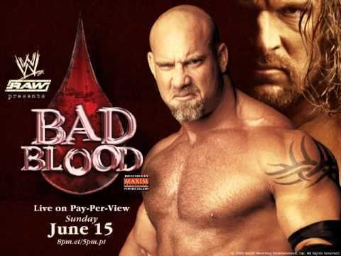 Bad Blood (2003) WWE Bad Blood 2003 Theme Song quotHeadstrongquot HD YouTube
