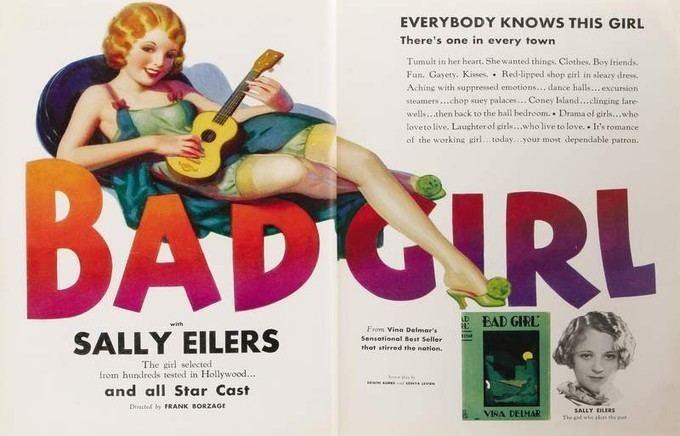 Bad Girl (1931 film) Papa Vinyards Oscar Sunday BAD GIRL 1931