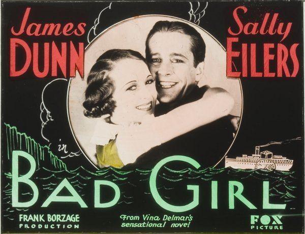 Bad Girl (1931 film) Bad Girl 1931 DVD Tinks Rare Film Vault