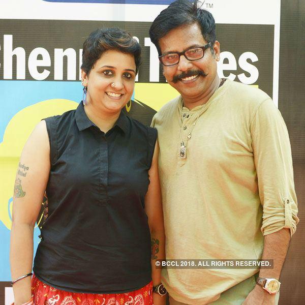 Badava Gopi Haritha and Badava Gopi attend Clean amp Clear Chennai Times Fresh