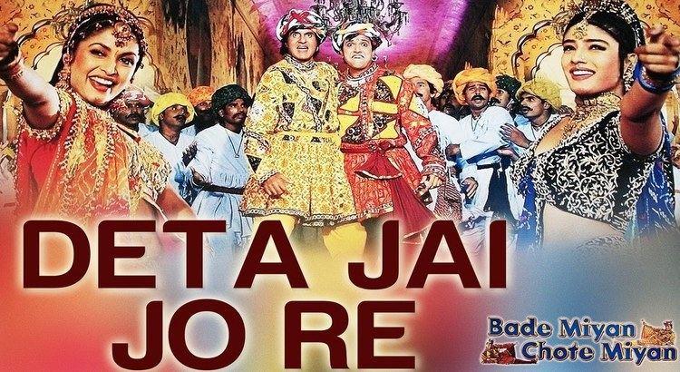Bade Miyan Chote Miyan Deta Jai Jo Re Bade Miyan Chote Miyan Amitabh Bachchan Govinda