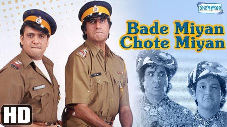Bade Miyan Chote Miyan Bade Miyan Chote Miyan 1998 HD Full Comedy Movie Amitabh