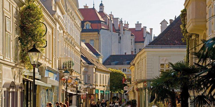 Information about Baden bei Wien Small historic towns