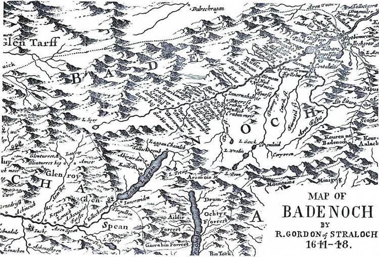 Badenoch Badenoch Its History Clans and Place Names