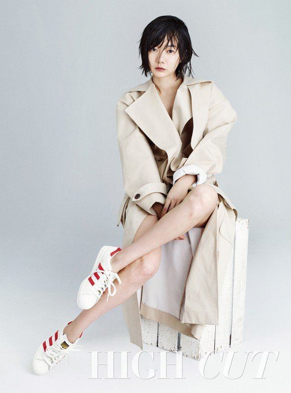 Bae Doona Bae Doo Na Is Sexy and Innocent for High Cut Pictorial
