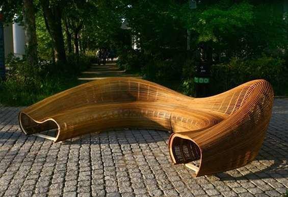 Bae Se-hwa Bae Sehwa39s Beautifully Bent Furniture BeautifulDecay