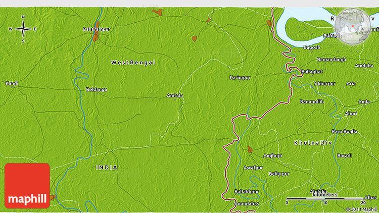 Baharampur Beautiful Landscapes of Baharampur
