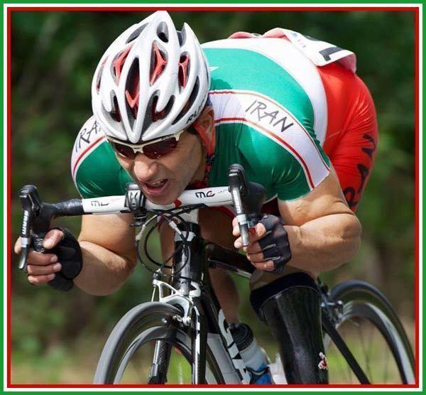 Bahman Golbarnezhad Iranian Paralympic Cyclist Bahman Golbarnezhad Dies Day Before