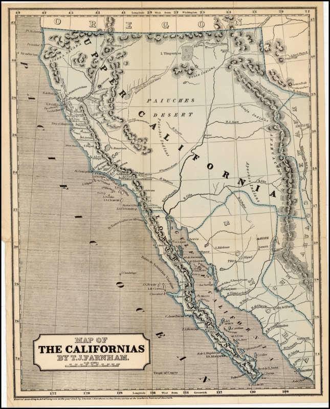 Baja California Sur in the past, History of Baja California Sur