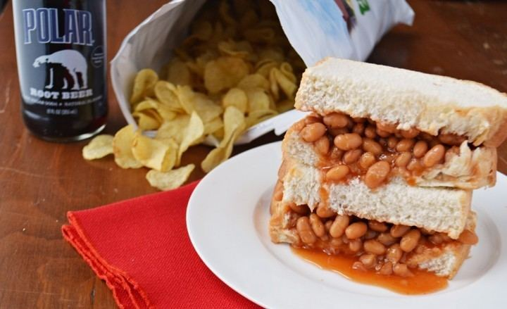 Baked bean sandwich Baked Bean Sandwich What to Do with Leftover Baked Beans New