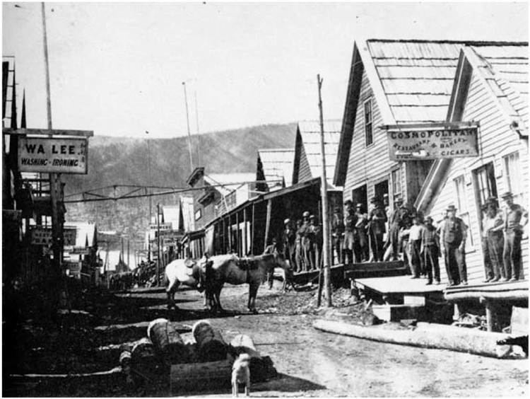 Bakerville in the past, History of Bakerville