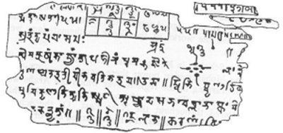 Bakhshali manuscript The Bakhshali Manuscript Ancient Indian Math The Ancient Ones