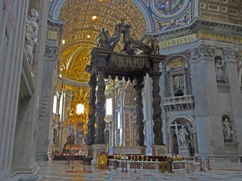 Baldachin Baldachin Altar Baldacchino in St Peter39s Cathedral