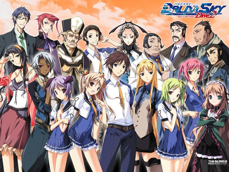 Baldr Sky Kirishima Rain Baldr Sky Zerochan Anime Image Board