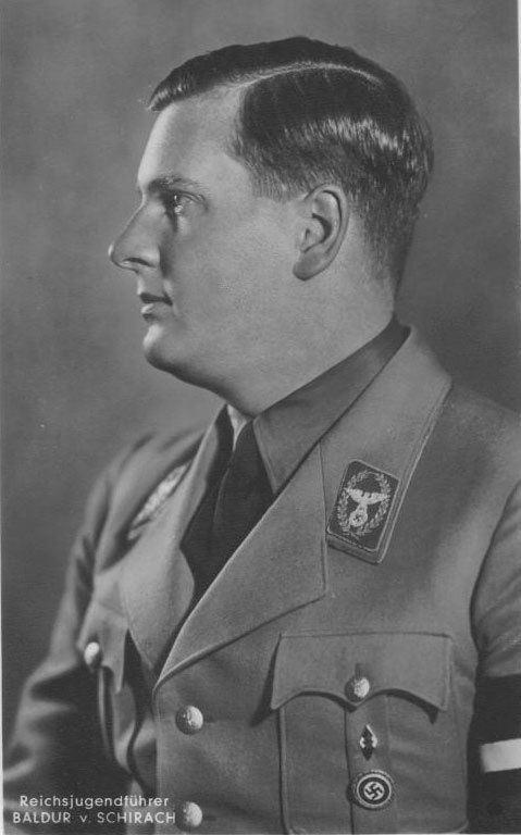 Baldur von Schirach Baldur von Schirach Reich Youth Leader French MacLean