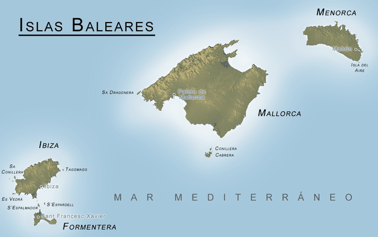 Balearic Islands in the past, History of Balearic Islands