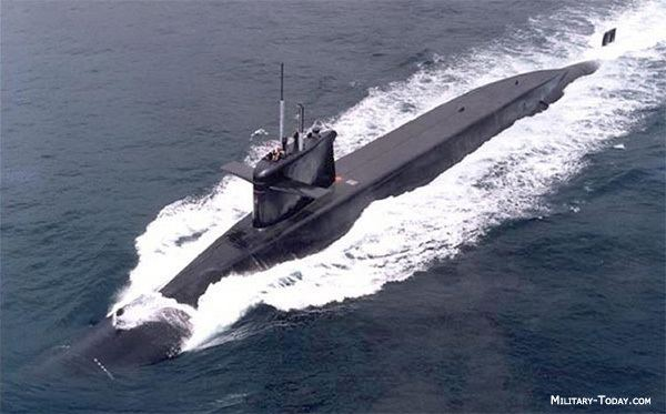 Ballistic missile submarine Le Redoutable Class Ballistic Missile Submarine MilitaryTodaycom