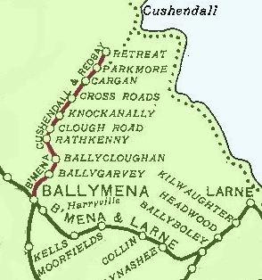 Ballymena, Cushendall and Red Bay Railway