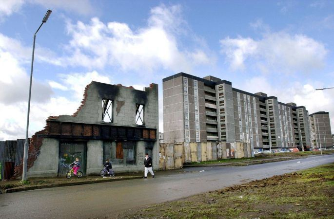 Ballymun Flats In pictures Ballymun towers down through the years