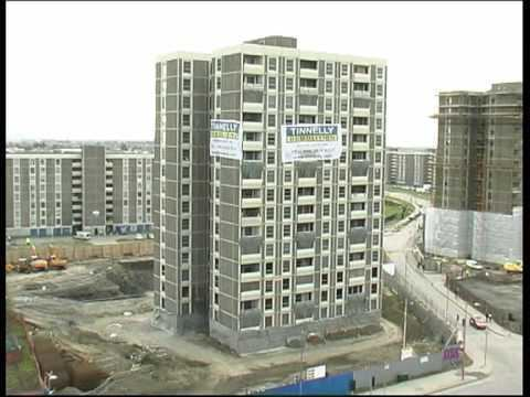 Ballymun Flats Ballymun Flats Demolition Dublin Ireland NEW HQ DESTRUCTION