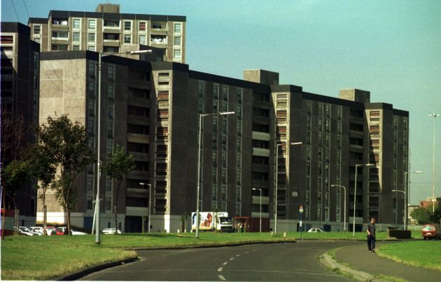 Ballymun Flats Some people wanted to stay in the Ballymun flats and would go back