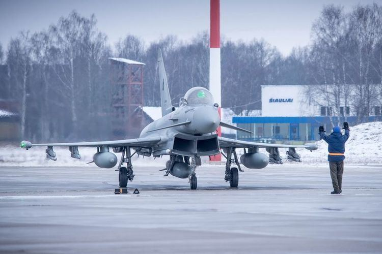 Baltic Air Policing The Aviationist Baltic Air Policing