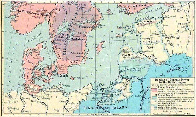 Baltic region Map of the Baltic Regions 13861560