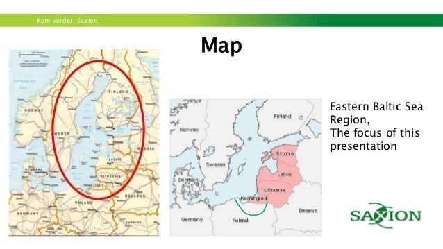 Baltic region The Eastern Baltic Region
