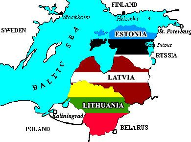Baltic states Which countries are known as the Baltic nations Why are they called