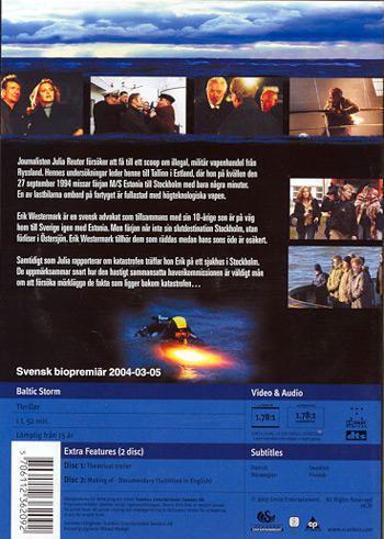 Baltic Storm Baltic Storm DVD Discshopse