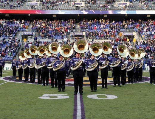 Baltimore's Marching Ravens The Baltimore Marching Ravens Making Music Magazine