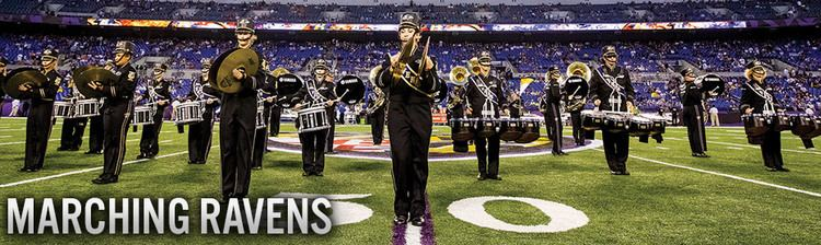Baltimore's Marching Ravens Baltimore Ravens Ravenstown Marching Ravens