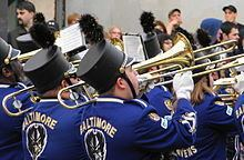 Baltimore's Marching Ravens httpsuploadwikimediaorgwikipediacommonsthu
