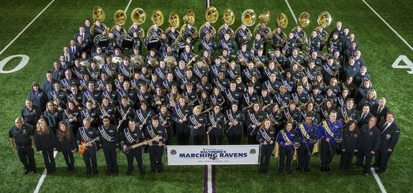 Baltimore's Marching Ravens Baltimore Ravens Ravenstown History