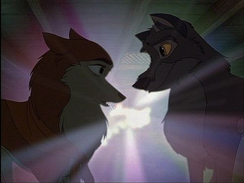Balto (film) movie scenes Balto and Jenna This scene helped fuel my obsession with stained glass Balto Movie