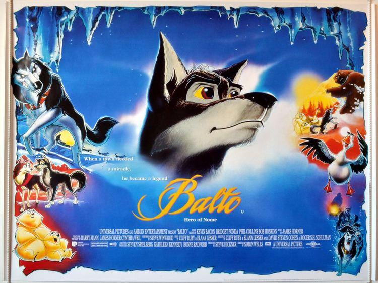 Balto (film) movie poster