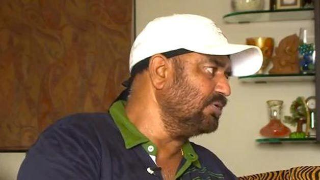 Balwinder Sandhu (Cricketer) playing cricket