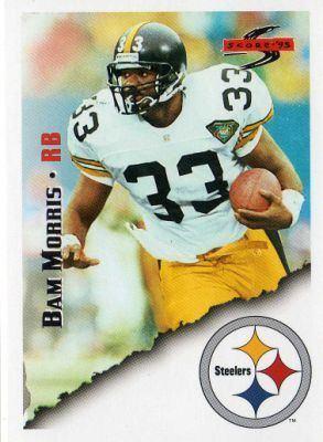 Bam Morris PITTSBURGH STEELERS Bam Morris 108 SCORE 95 American Football NFL