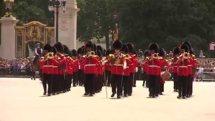 Band of the Coldstream Guards Band of the Coldstream Guards Buckingham Palace 1 July 2013 YouTube