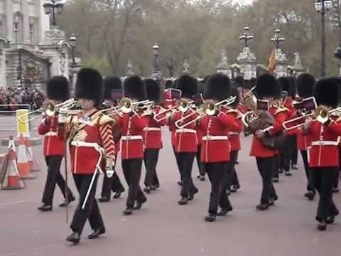 Band of the Scots Guards Band of the Scots Guards Changing the Guard April 2012 YouTube