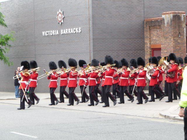 Band of the Scots Guards Band of The Scots Guards leaves Victoria Kevin White ccbysa