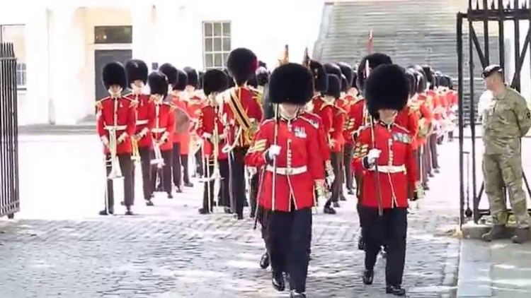 Band of the Welsh Guards The Band of the Welsh Guards YouTube