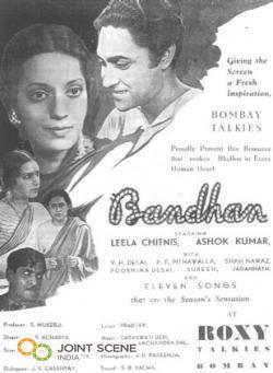 Bandhan (1940 film) movie poster