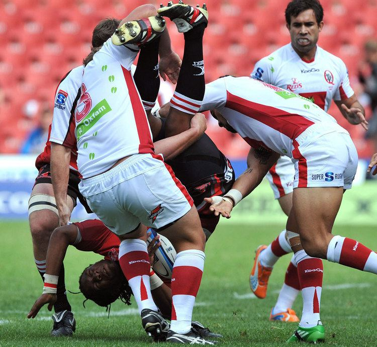 Bandise Maku Lions hooker Bandise Maku is upended Rugby Union Photo ESPN Scrum